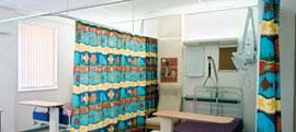 Rieles de cortinas divisorias